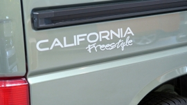 California Freestyle stickerset