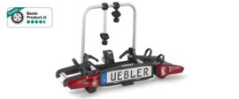 Uebler i21 wegkantelbare en opklapbare fietsendrager