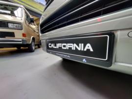 California showroom nummerplaat