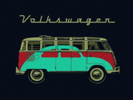 VW T1 Bus Fleece Samba Betlle design