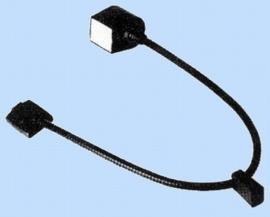 zwanenhalslamp voor bovenbed