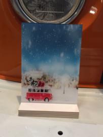 Wallsign 21x15cm kerst