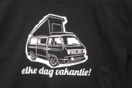 Kids T-shirt Elke dag vakantie T3 (maat M (152)
