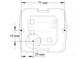 Propex onderbouw Gaskachel HS 2211D  met Digitale thermostaat