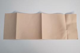 Opstrijkbaar reparatiedoek 12x34 cm beige