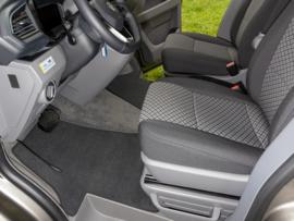 Mat VW T6.1 - Cabine Velours Titanium black Brandrup