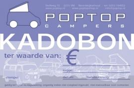 Poptop Kadobon