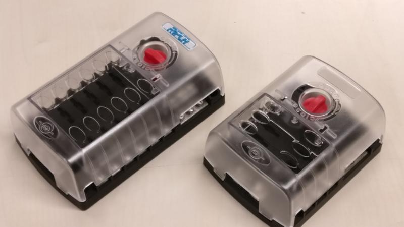 Zekeringkast/verdeeldoos 12 volt