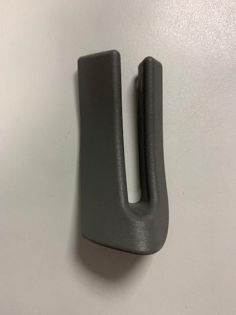 Afdekking bij gordijnrail schuifdeur T5 C-stijl