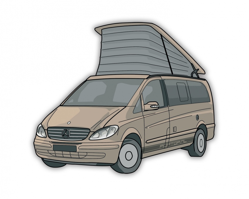 new release uk store cozy fresh Mercedes Viano Marco Polo 639 (03-14)   Poptopshop.nl