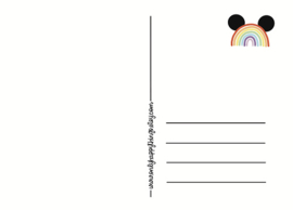 Ansichtkaart Post Enveloppen