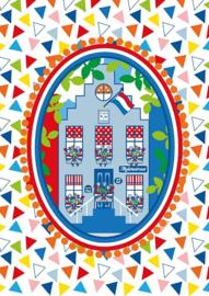 Ansichtkaart Holland Feest
