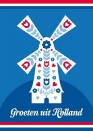 Ansichtkaart Holland Molen