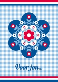 Ansichtkaart Holland Bloem2