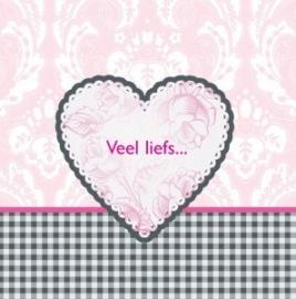 Wenskaart Liefs voor jou