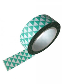Washi Tape Mint Driehoek