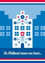 Ansichtkaart Holland Huis