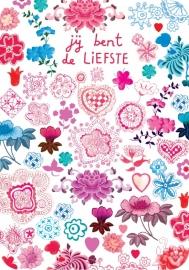Ansichtkaart Popje - Liefs