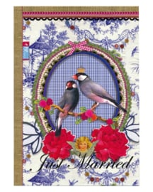 Wenskaart Pip Studio Just Married