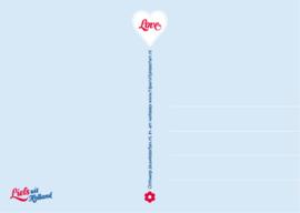Ansichtkaart Love 15-set