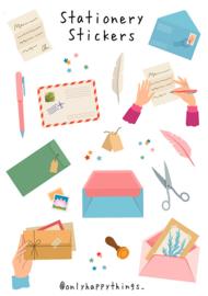 Stickervel Stationery 19-set
