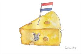 Ansichtkaart Kaas NL