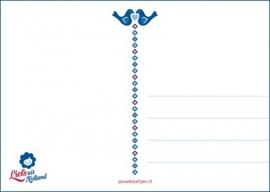 Ansichtkaart Holland Vogels