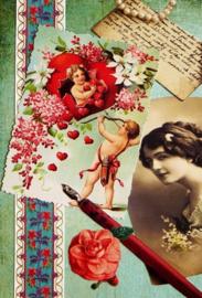 Ansichtkaart Vintage 15