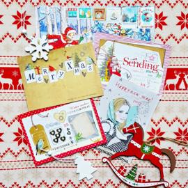Kerst met kaarten Love Sam