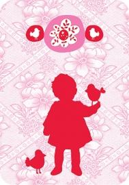 Ansichtkaart Popje - Princess