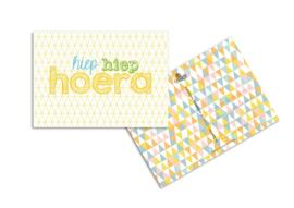 Ansichtkaart Hoera