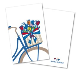 Cadeaulabels 2-set Fiets Holland