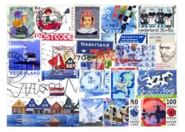 Ansichtkaart Collage Nederland
