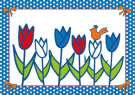 Ansichtkaart Studio Holland Tulpen