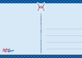 Ansichtkaart Holland Vlinder
