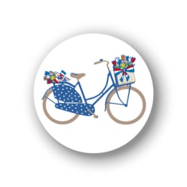 Sluitstickers Fiets mini 10-set