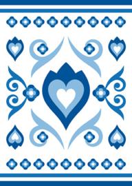 Ansichtkaart Delftsblauw C 15-set