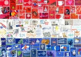 Ansichtkaart Postzegels NL
