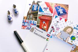 Stickers Postcrossing ID 24-set