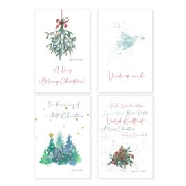 Kerstkaart White Christmas