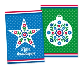 Kerstkaarten Holland 20-set