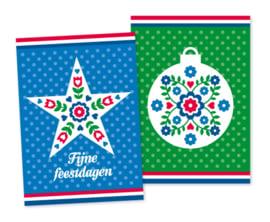 Kerstkaarten Holland 20-set