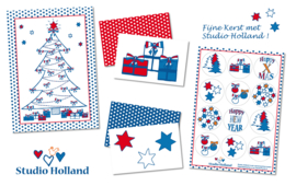 Studio Holland Kerst 6-set