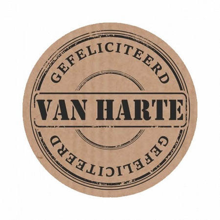 Sluitstickers6 Van Harte