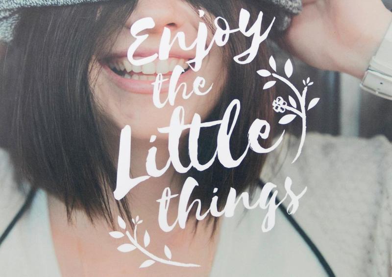 Ansichtkaart Little Things