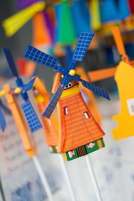 Ansichtkaart Windmolen Holland