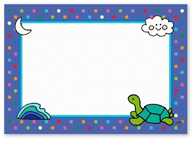 Adressticker Schildpad