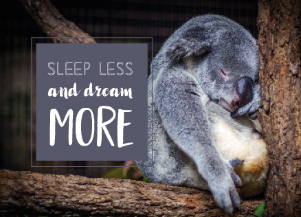 Ansichtkaart Quotes Dreams