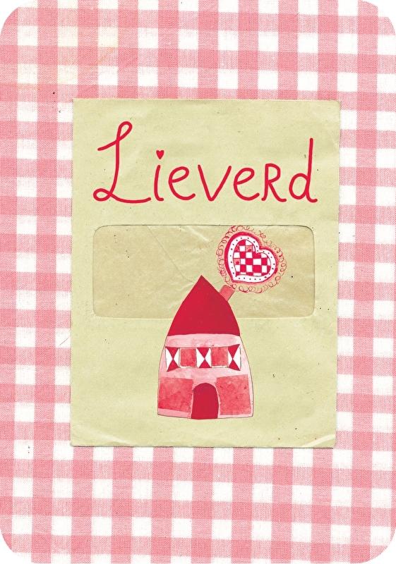 Ansichtkaart Popje - Lieverd
