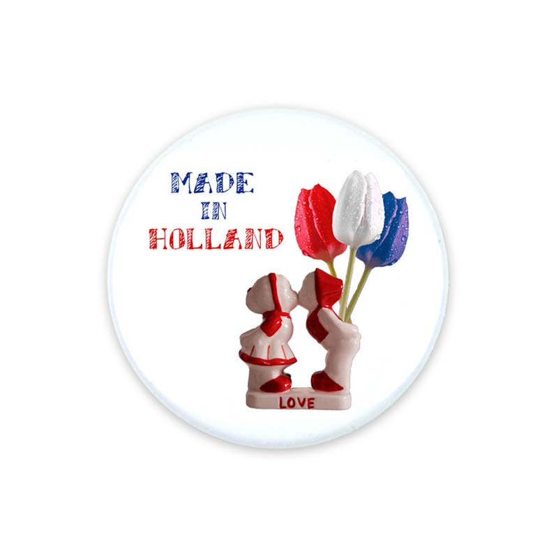 Button 37mm Made in Holland